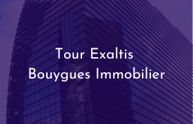 Tour Exaltis projet Bouygues Immobilier